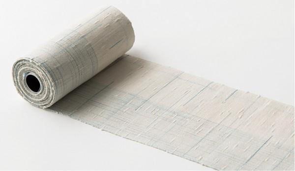 紙布3 半幅帯を織る