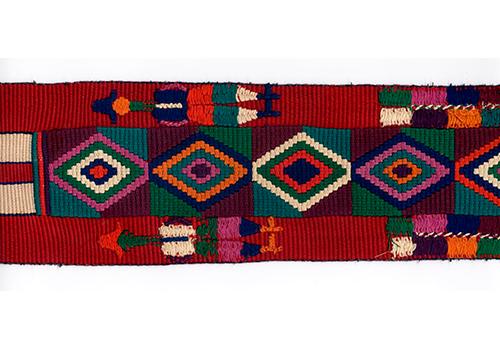 バックストラップ 応用編 ネバフの女性用縫取織腰帯織