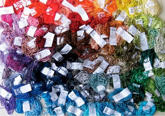 化学染色データ作成 絹