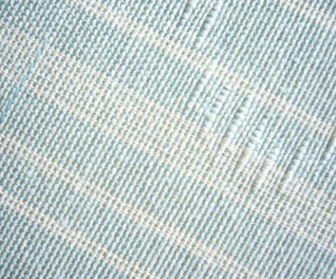 紙布 半幅帯を織る