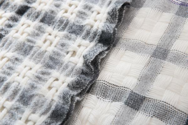 手織り布の縮絨