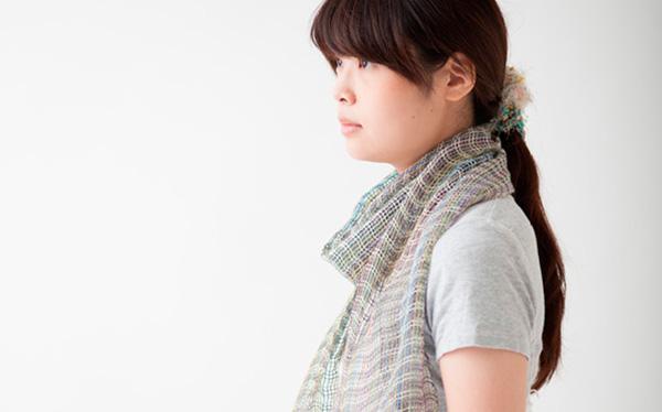 竹糸で織る紗のストールと絽のランチョンマット [終了]